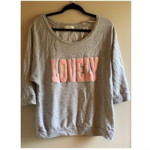 Forever 21 LOVELY sweatshirt